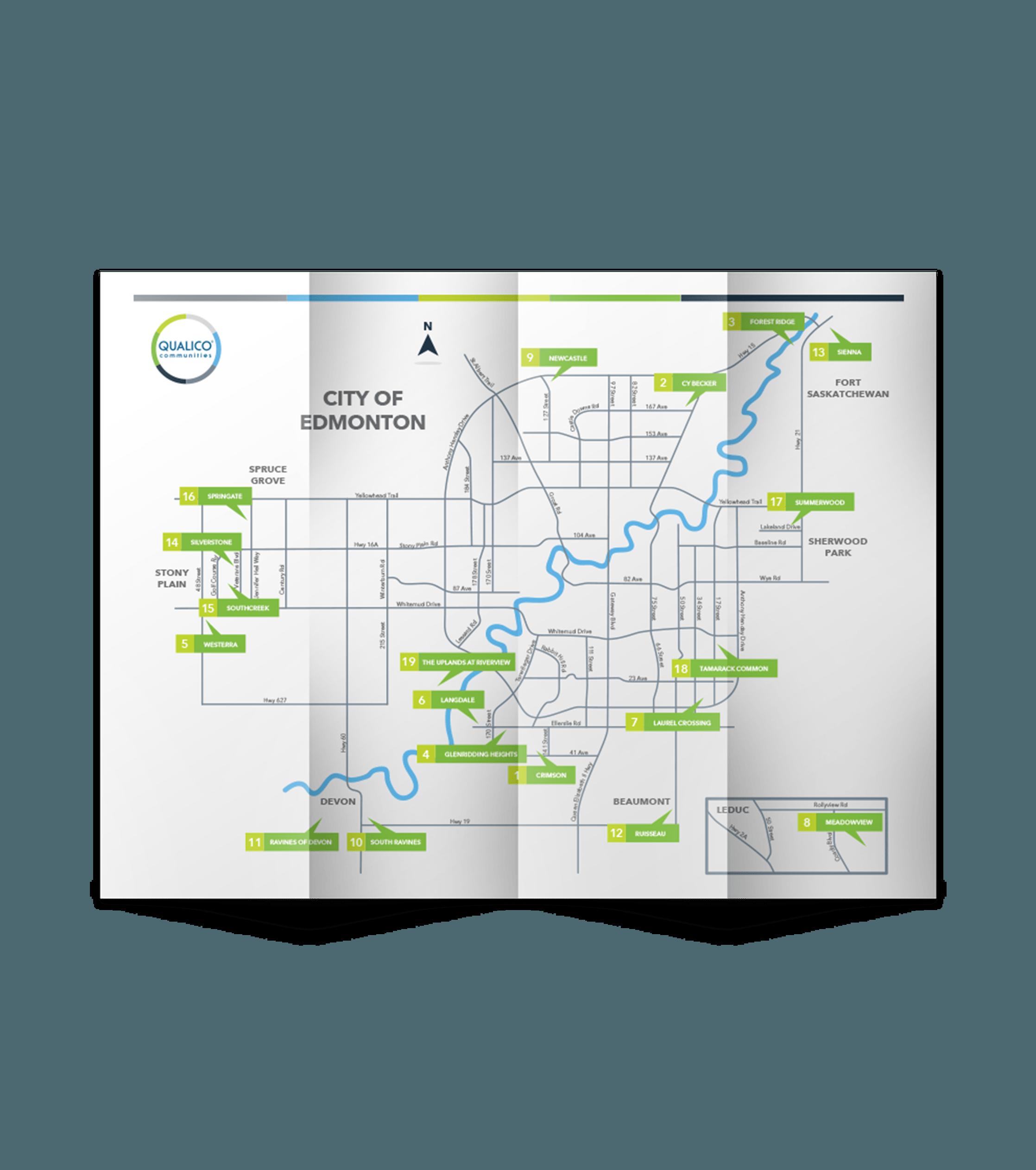 qualico communities map image