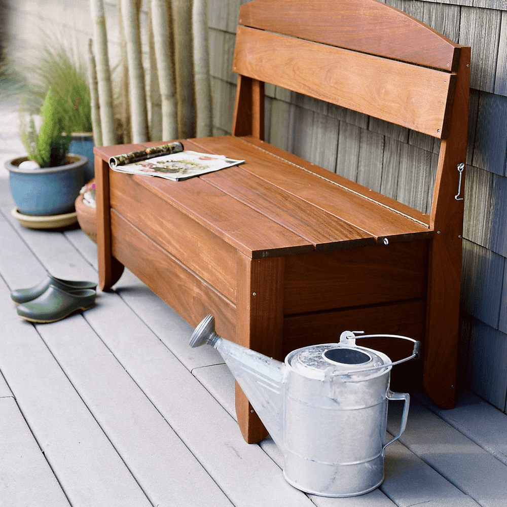 7 Tips to Cover Up the Ugly Outside Your Home Bench Image
