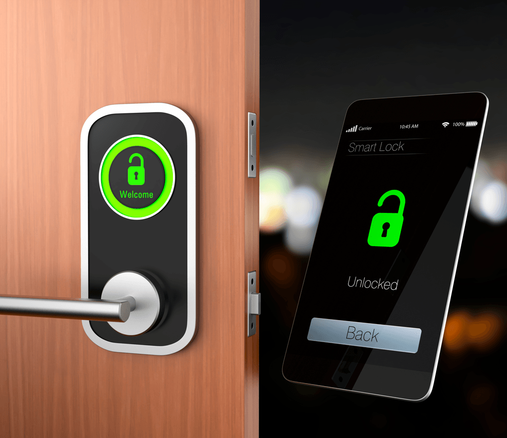 Tech That Protects: Smart Home Security Solutions Smart Lock Image