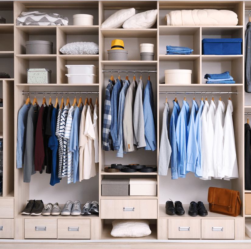 Design Details You Don't Want to Forget When Building a New Home Wardrobe Image