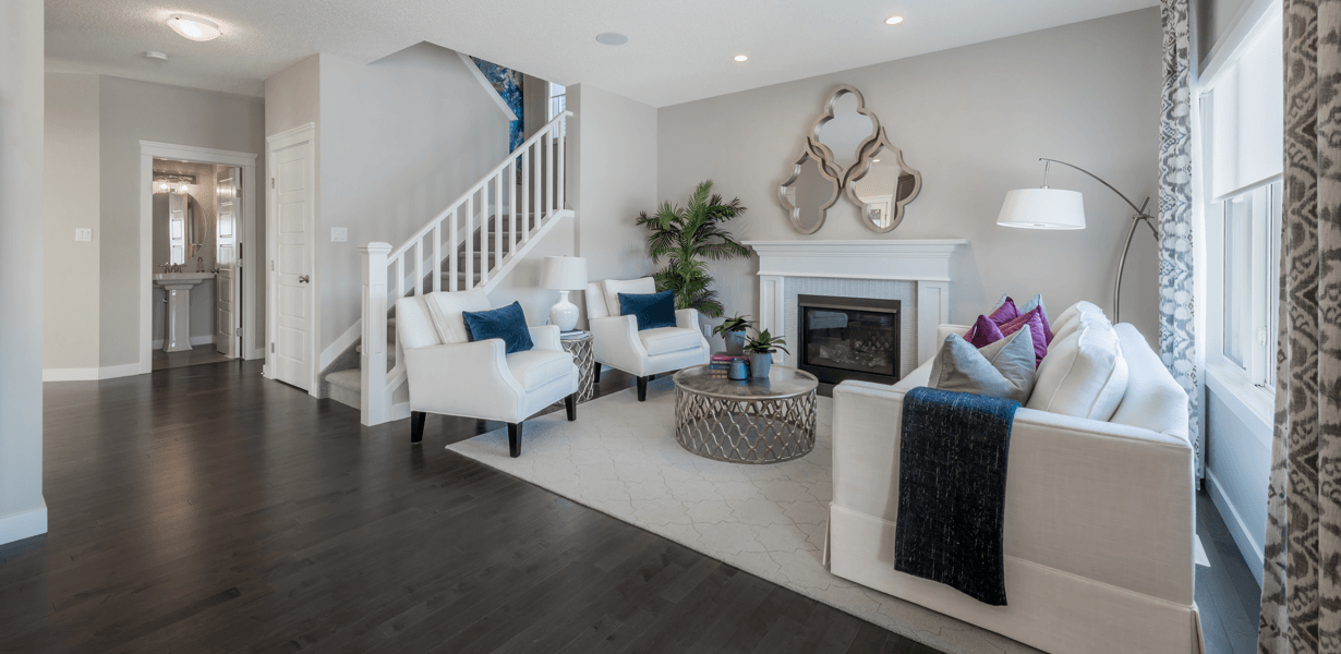 15 Questions to Ask a Show Home Area Manager Great Room Image
